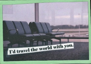 Not mine, completely bagged from post secret.
